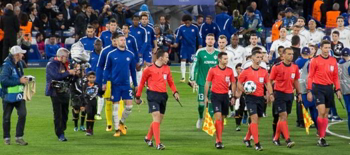 Champions League klubbarna Chelsea och Qarabaq i Topptipset