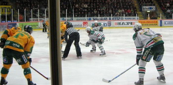 Hockey SHL Spelvecka 43 lördag tips