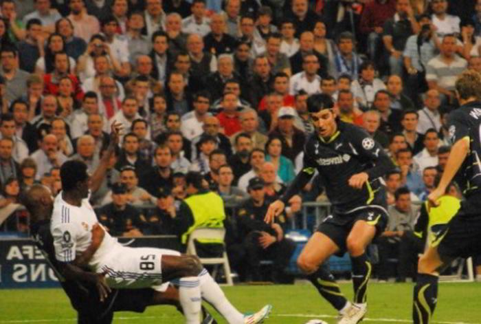 Bild på Real mot Tottenham