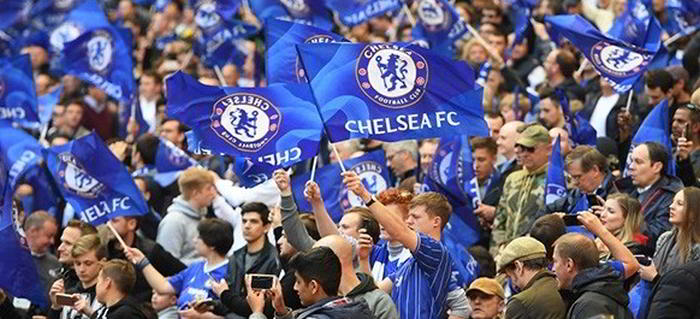 Chelsea fans på arenan inför vecka 43 Topptips