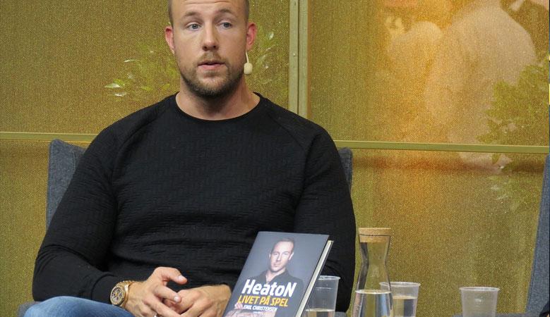 """E-sportaren Emil """"HeatoN"""" Christensen på Bokmässan i Göteborg"""